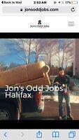 J.O.J. Halifax! Labourers, Movers, and More. No job too odd.
