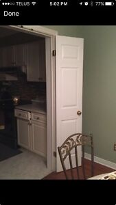 Set of Solid White French Doors   London Ontario image 3
