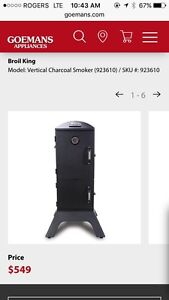 Charcoal Smoker New In Box
