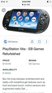 Looking for a ps vita