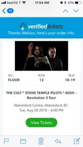 The Cult, STP and Bush