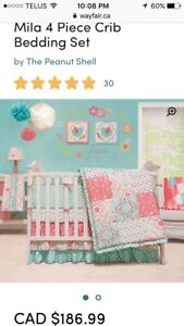Mila Crib Bedding Set