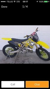 2007 RM250 great shape!