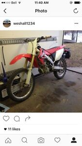 2004 crf250r fresh rebuild in 2014