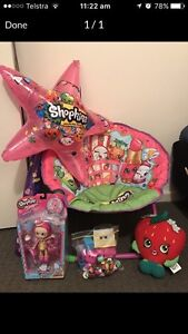 Shopkins Chair, blow up wand and plush toy bundle Woodside Adelaide Hills Preview