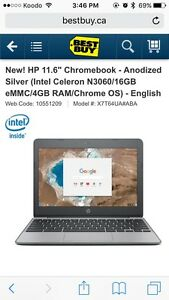 "11.6"" Chromebook - New Never Used"