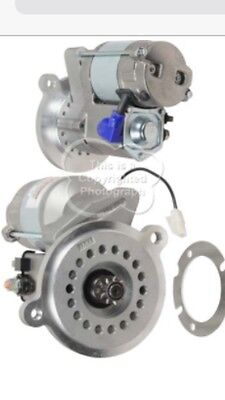 Hi Torque, Mini Starter, 12V, 9T, CCW, OSGR, 1.4kW, New 460 Ford Marine  ()