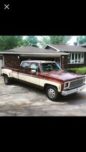 1980 gmc crew cab dually squarebody give me a offer