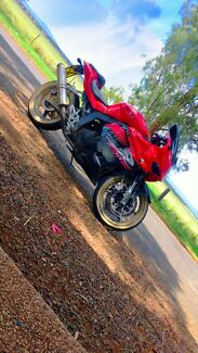 2011 hyosung gt250r non restricted but l plate legal 10 months rego