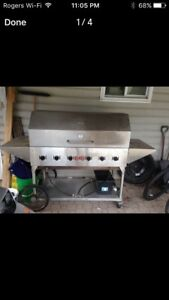 Stainless crown verity BBQ