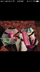 Lot of Monster High, Barbie and other toys.