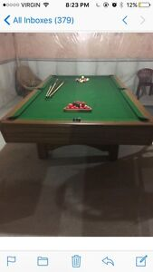 Combo Snooker / Pool Table