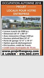 Magog industriel à louer rue Tangauy