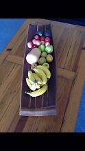 Fruit bowl and cheese platter made from wine barrel Mount Pleasant Melville Area Preview