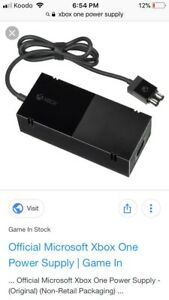 Looking for Xbox one power supply