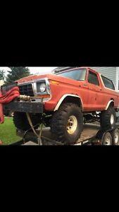 79 Bronco with car Hauler package deal.