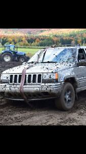 Jeep grand cherokee limited 1998 pour pièces