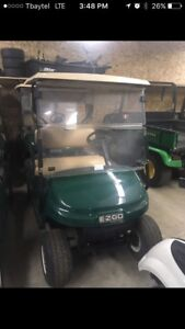 EZGO TXT Golf Cart