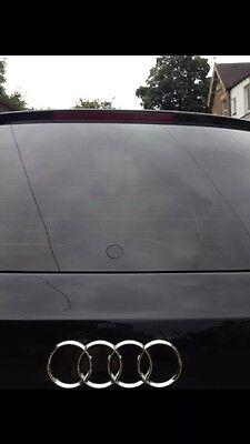 Flush Black De Wiper Bung Audi A1 A3 S3 8P 8V 8L S6 RS4 A4 Avant B5 B6 B7