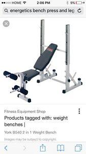 Bench press - strength equipment  Cambridge Kitchener Area image 1