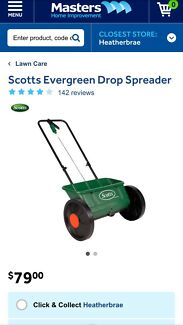 Wanted: Scotts Drop spreader