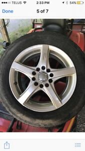 Tires and rims from Jetta winter Good Year