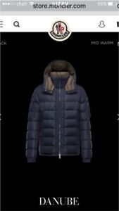 Moncler Danube down coat for sale or trade