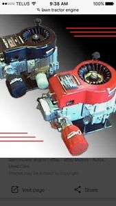 Looking for a lawn tractor engine