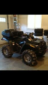 2008 Can Am Outlander with trailer