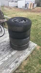 Winter and summer tires