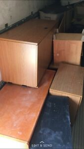Business closing- Desks and Filing Cabinets for Sale