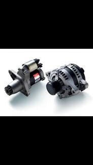 Alternators & Starter motors. From $99