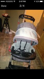 Sit and stand stroller  Kitchener / Waterloo Kitchener Area image 3