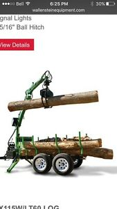 Wanted used log loader trailer