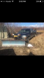 7foot fisher hydrolic plow $500 firm