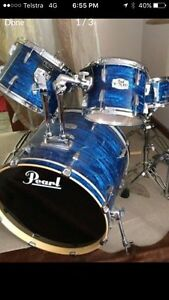 Pearl export drum kit Scarborough Stirling Area Preview