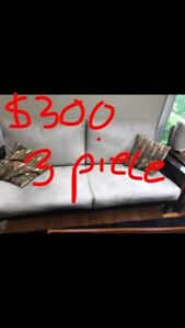3 piece sofa/couch set! NEED GONE ASAP!