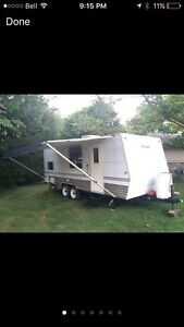 21' travel trailer rental