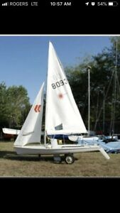 Laser 2 complete boat for sale