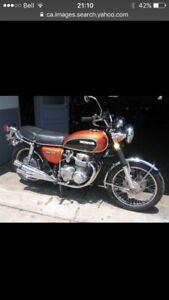WANT TO BUY- Vintage Honda cb's