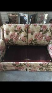 Single sofa bed. Solid..**SOLD!