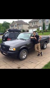 Student mover with a truck