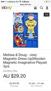 Melissa &Doug wooden magnetic playset Duncraig Joondalup Area Preview