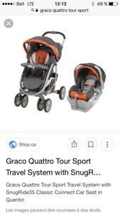 Système de voyage Graco Quattro tour sport