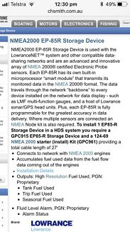 Nmea2000 ep-85r storage device