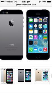 iPhone 5s 32 g Peterborough Peterborough Area Preview