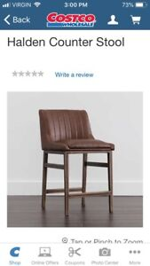 Brand New 5 Halden Counter Chairs. Price is each.