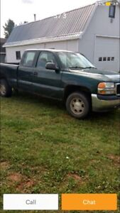 Parting out 2000 GMC Sierra
