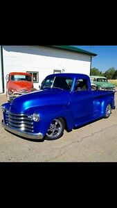 1950 Chevy 1/2 ton truck short box truck chassis