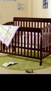 Baby crib and sewing